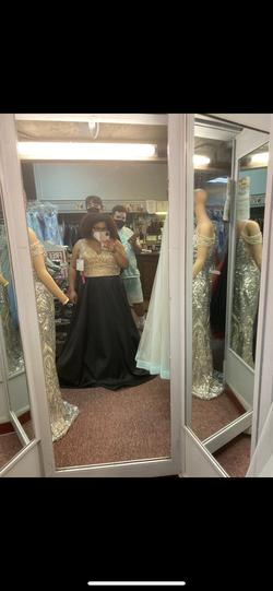 Black Size 22 Ball gown on Queenly