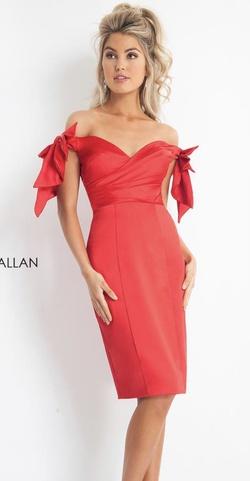 Rachel Allan Red Size 4 Rachel Allen Cocktail Dress on Queenly