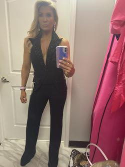 Black Size 8 Jumpsuit Dress on Queenly