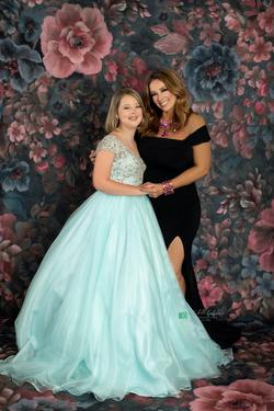 Mac Duggal Blue Size 2 Macduggal Ball gown on Queenly