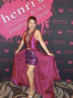 Rachel Allan Pink Size 4 Train Dress on Queenly