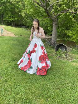 Sherri Hill White Size 2 Prom Corset Ball gown on Queenly