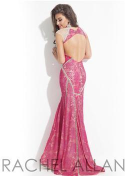 Rachel Allan Pink Size 12 Rachel Allen Straight Dress on Queenly