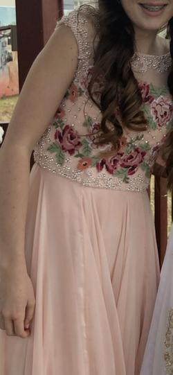 Sherri Hill Pink Size 0 Straight Dress on Queenly