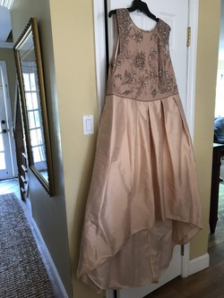 Gold Size 24 A-line Dress on Queenly