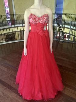 Mac Duggal Red Size 2 Macduggal Ball gown on Queenly