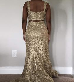 Sherri Hill Gold Size 6 Mermaid Dress on Queenly