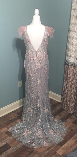 Multicolor Size 12 Mermaid Dress on Queenly