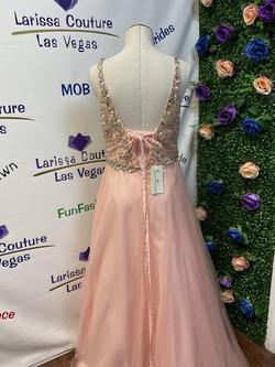 Larissa Couture LV Pink Size 16 Ball gown on Queenly