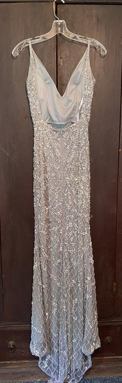 Silver Size 4 A-line Dress on Queenly