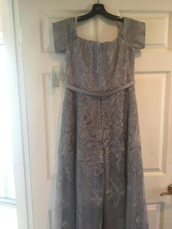 Silver Size 10 A-line Dress on Queenly