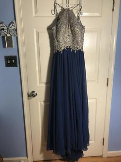 Dave & Johnny Blue Size 6 Dave And Johnny Straight Dress on Queenly