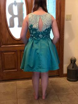 Tony Bowls Blue Size 12 Cocktail Dress on Queenly