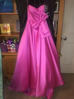 Ashley Lauren Pink Size 2 Short Height Ball gown on Queenly