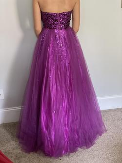 Purple Size 0 Ball gown on Queenly