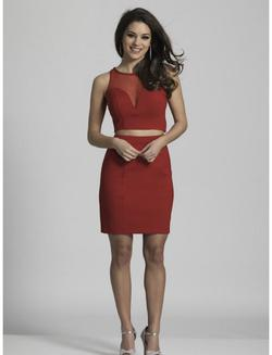 Red Size 10 Cocktail Dress on Queenly