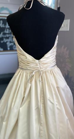Nude Size 10 Ball gown on Queenly