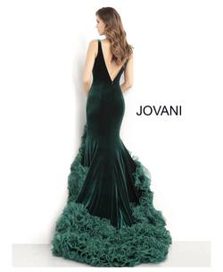 Jovani White Size 2 Pageant Tall Height Mermaid Dress on Queenly
