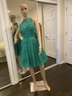 SHAIL Green Size 12 Cocktail Dress on Queenly
