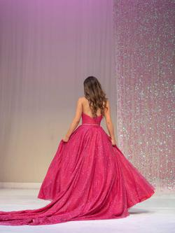 Mia bella couture Pink Size 0 Ball gown on Queenly