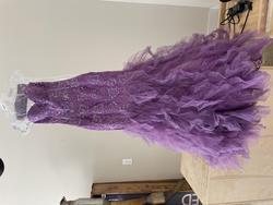 Purple Size 0 Mermaid Dress on Queenly