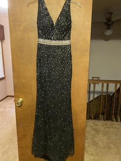 Panoply Black Size 2 A-line Dress on Queenly