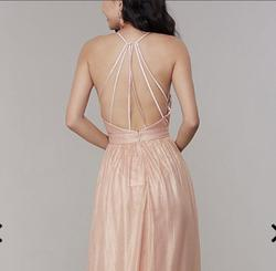Gold Size 8 A-line Dress on Queenly