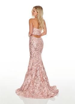Rachel Allan Pink Size 6 Side slit Dress on Queenly
