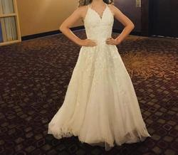 Sherri Hill White Size 00 Wedding Short Height Ball gown on Queenly