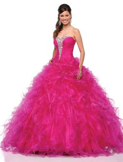 Style 2167 Karishma Creations Pink Size 0 Corset Tall Height Ball gown on Queenly