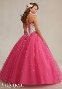 Style 89083 Vizcaya Pink Size 2 Quinceanera Tall Height Ball gown on Queenly