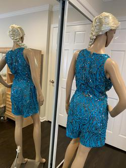 SHAIL K Multicolor Size 10 Homecoming Mini Jumpsuit Dress on Queenly