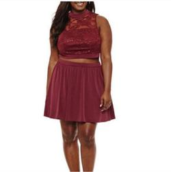Red Size 20 Cocktail Dress on Queenly