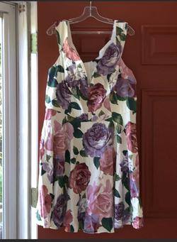 Purple Size 20 Cocktail Dress on Queenly