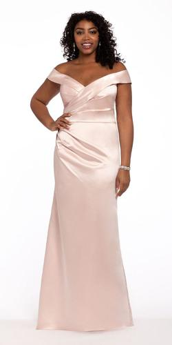 Style 41770-68093 Camille la vie Nude Size 6 Ball gown on Queenly