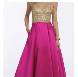 Camille la vie  Pink Size 6 Ball gown on Queenly