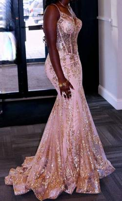 Gold Size 0 Mermaid Dress on Queenly