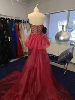 Fernando Wong Red Size 2 Straight Dress on Queenly
