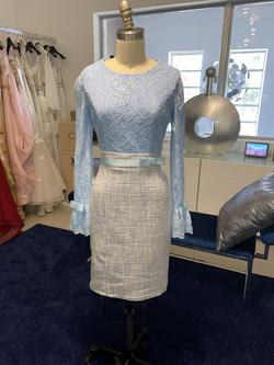 Fernando Wong Blue Size 4 Cocktail Dress on Queenly