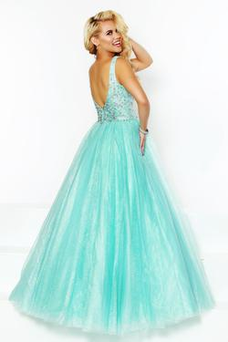 Style 81042 2Cute Prom Light Green Size 24 Turquoise Pageant A-line Dress on Queenly