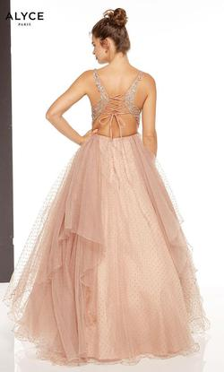 Style 60667 Alyce Paris Pink Size 2 Quinceanera Tall Height Ball gown on Queenly
