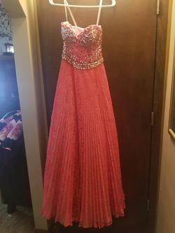 Sherri Hill Pink Size 2 A-line Dress on Queenly