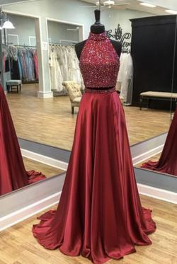 Sherri Hill Red Size 2 A-line Dress on Queenly