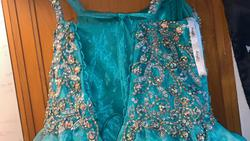 Tiffany Designs Green Size 8 Corset Ball gown on Queenly
