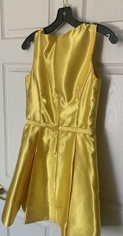 custom Yellow Size 6 Tall Height Cocktail Dress on Queenly