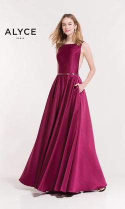 Style 8030 Alyce Paris Pink Size 2 Backless Tall Height A-line Dress on Queenly