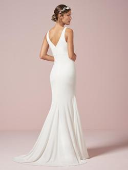 Style 22960 House of Wu White Size 10 Wedding Tall Height Mermaid Dress on Queenly