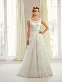 Style 217105 Mon Cheri White Size 20 Tulle Wedding A-line Dress on Queenly