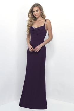 Style 4252 Mary's Purple Size 10 Sweetheart Tall Height Wedding Guest Straight Dress on Queenly