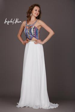 Style 61038 Angela and Alison Multicolor Size 2 Prom A-line Dress on Queenly